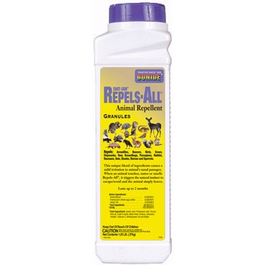 Bonide Shot-gun Repels-All Animal Repellent Granules, 1.25lb