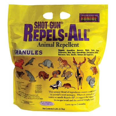 Bonide Repels-All Animal Repellent Granules, 6lbs