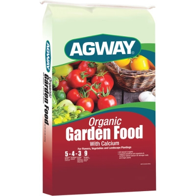 Agway Organic Garden Food with Calcium, 5-4-3 20 Lb.
