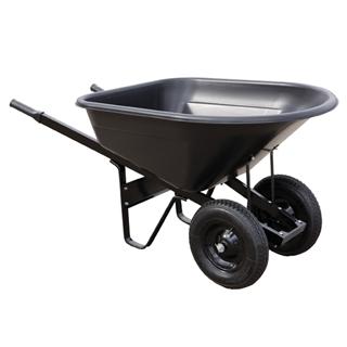 Master Gardener Yard Tek Pro Wheelbarrow, 8 cu ft