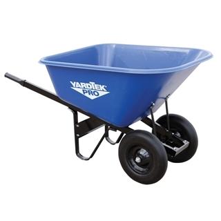Master Gardener Yard Tek Pro Poly Wheelbarrow, 10 cu. ft.