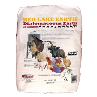 Red Lake Earth Diatomaeceous Earth Powder, 40 lbs.