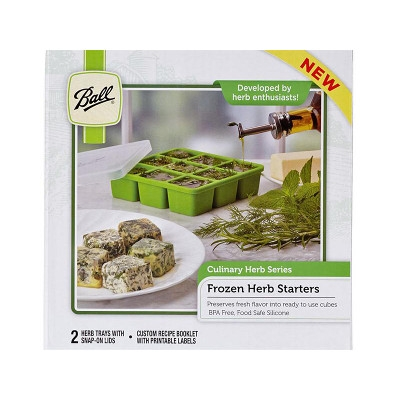 Frozen Herb Starter Trays with Recipes
