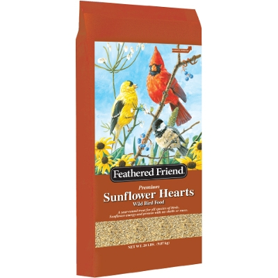 Feathered Friend Sunflower Hearts, 20 Lb.