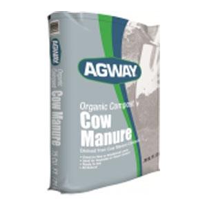 Agway Organic Compost Cow Manure, .75 cu. ft.