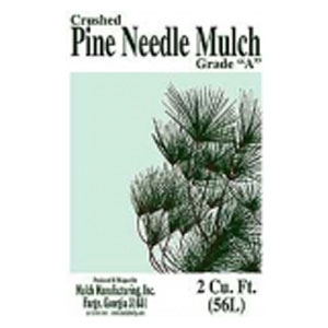 Crushed Pine Needle Mulch Grade 2 Cuft