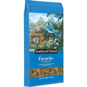 Feathered Friend Favorite Bird Seed, 20 lbs.