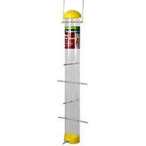 Nyjer Seed Tube Feeder - Yellow 22 inch