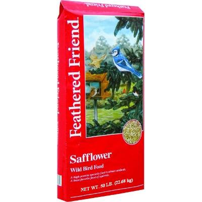 Feathered Friend Safflower Wild Bird Food, 50lb