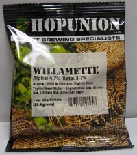 HOP PELLETS US WILLAMETTE 1 OZ
