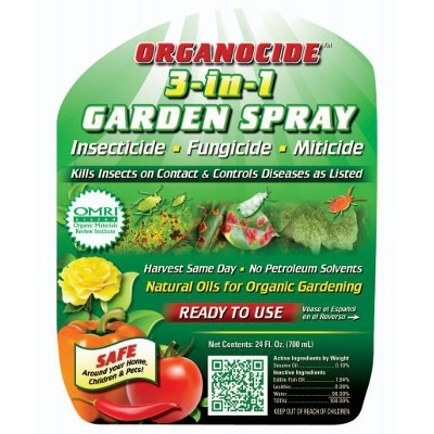 Organocide Insecticide/Fungicide RTS by Organic Laboratories INC.