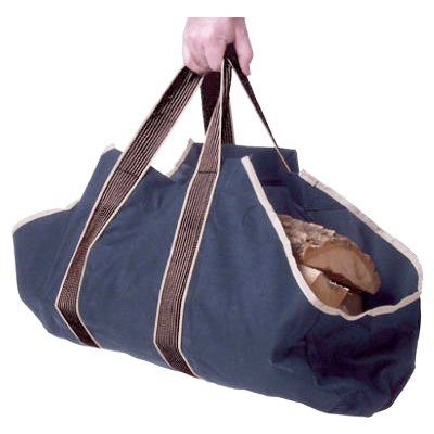 Canvas Log Tote, 12 in. x 27 in. x 12 in.