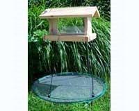 Songbird Essentials Seed Hoop Platform for Birdfeeders, 24 inches