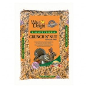 Wild Delight Crunch N' Nut Squirrel Food 8 Lb
