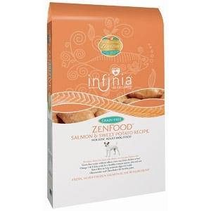 Infinia Holistic ZenFood Salmon & Sweet Potato Dog Food, 30 lbs.