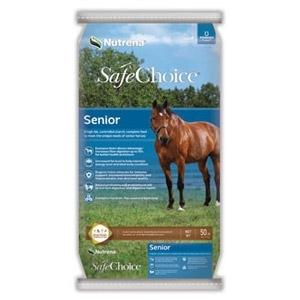 Nutrena SafeChoice Senior Horse Feed, 50lb