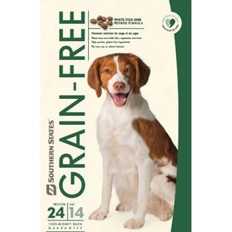 Southern States Grain Free White Fish & Potato Dog Food, 30 lbs.