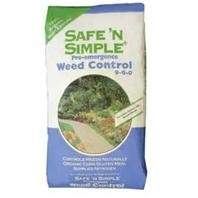 Safe & Simple Corn Gluten Weed Control, 50 lbs.