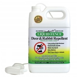 Liquid Fence Deer & Rabbit Repellent RTU 1 Gallon