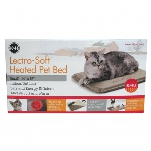 Outdoor Heated Ped Bed, 20 watt