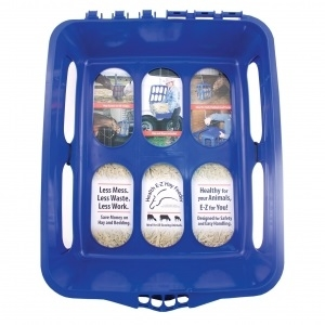 Heath E-Z Hay Feeder Blue