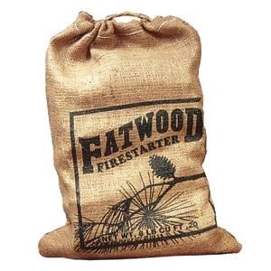 Fatwood Burlap Bag 8 Lb. Burlap Bag
