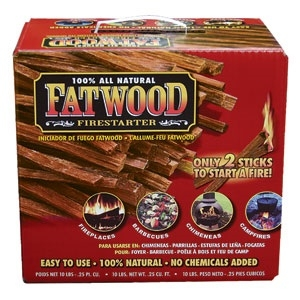 Fatwood Color Box 10 Lb. Color Box