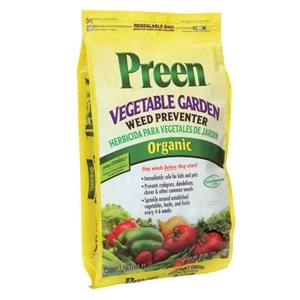 Preen Organic Vegetable Garden Weed Preventer, 25 lbs.