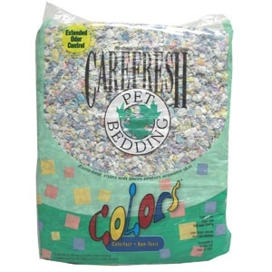 Carefresh Confetti Colored Bedding, 50 liters