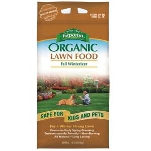Espoma Organic Fall Winterizer, 30 lbs.