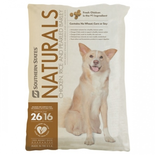 Southern States Naturals Chicken & Rice 40lb. Dog Food