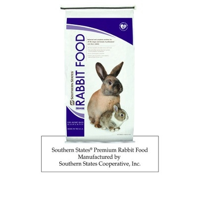 Premium Rabbit Food, 25lb