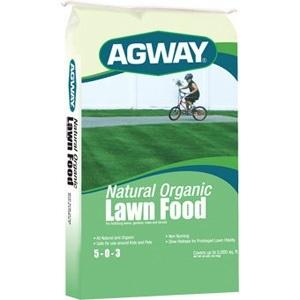 Agway Organic Lawn Food 5-0-3 40lb