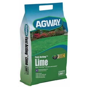 Agway Fast Acting Lime, 25 lbs. 5k