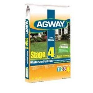 Agway ® Stage® 4 Winterizer Fertilizer