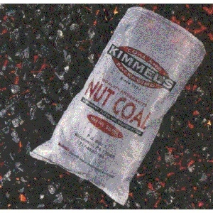 Kimmel Anthracite Bagged Coal for Heating 50lb. - Available in Rice, Pea & Nut Sizes