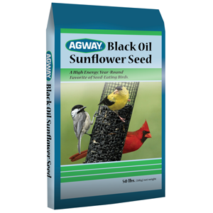 Agway Black Oil Sunflower Seed 20lb