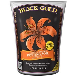 Black Gold® Natural & Organic Potting Mix Plus Fertilizer, 8 Quarts