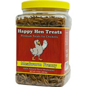 Happy Hen Mealworm Frenzy 10oz. Treats