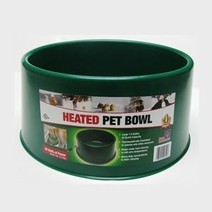 60w Round Heated Pet Bowl