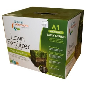 Natural Alternative Lawn Fertilizer Early Spring