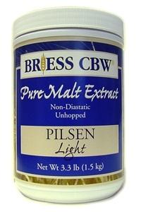BRIESS PILSEN LT MALT 3.3LB CANISTER