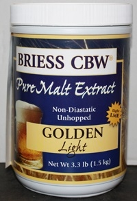 BRIESS GOLDEN LT MALT 3.3LB CANISTER