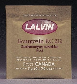 YEAST RC-212 LALVIN ACTIVE FR DRIED WINE