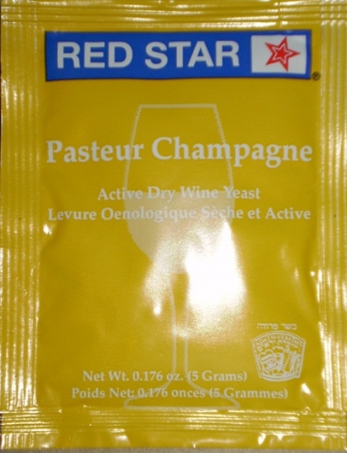 YEAST PASTUER CHAMPAGNE RED STAR FR DRIED
