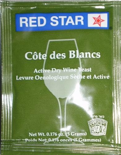 YEAST COTE BLANC EPRNAY 2 RED STAR ACT