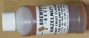 EXTRACT 4 OZ HAZELNUT FLAVOR
