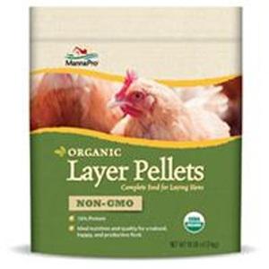 Manna Pro-Farm Organic Layer Pellets Non-Gmo 10lb