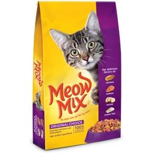 Meow Mix 16lb Original Choice Cat Food