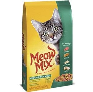 Meow Mix Indoor Forumla 14.2lb. Cat Food